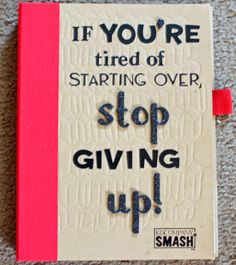 Great use of a Smashbook, a Weight-Loss Journal! - Day to Day: Stop Giving up