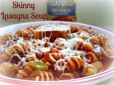 Survival Guide by The Working Mom: Crock-Pot Healthy Lasagna Soup: Healthy Food For The Big Game #CookClassico #CBias