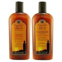 Agadir Argan Oil Shampoo and Conditioner are amazing hair care products.
