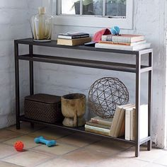 10 Slim + Slender Consoles for Small Spaces | Apartment Therapy