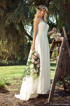 Charlotte Balbier 2016 #Wedding Dresses — Willa Rose #Bridal Collection | Wedding Inspirasi  #weddings #weddingdress #weddinggown