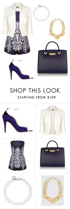 """Lunch Date"" by fashionov-a ❤ liked on Polyvore featuring Brian Atwood, Phase Eight, Martin Grant, ZAC Zac Posen, Tiffany & Co. and Draper James"