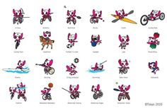 Olympic Mascots, Olympic Games, 2020 Summer Olympics, Paperchase, Judo, Character Art, Tokyo, Japan, Anime