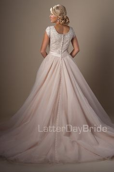 Ballgown (Wedding) : Arquette (My favorite rose colored option)