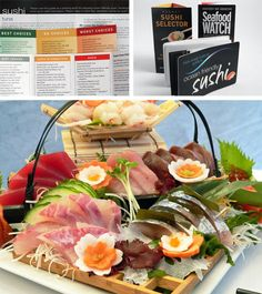 Sushi guide for sustainable fish
