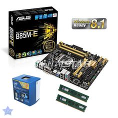 Intel Quad Core i7 4790 CPU + ASUS B85 Motherboard + 8GB 1600 RAM PC Upgrade Kit Competition