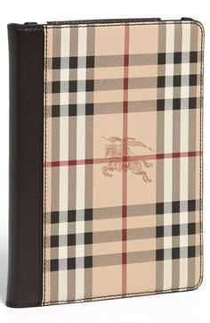 Burberry 'Haymarket Check' iPad Mini Case available at #Nordstrom