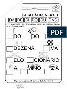 Sequencia de Atividades Dona Aranha Dena, Education, Sight Word Activities, Kids Learning Activities, Literacy Activities, Initials, Note Cards, Onderwijs, Learning