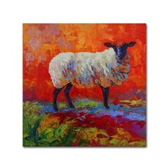 Trademark Fine Art 'Suffolk Abstract' Canvas Art by Marion Rose, Size: 24 x 24, Multicolor