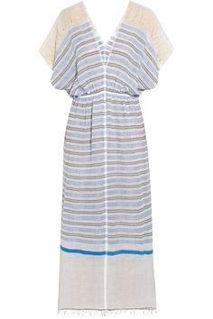 LemLem|Dehna striped cotton-blend voile dress|NET-A-PORTER.COM
