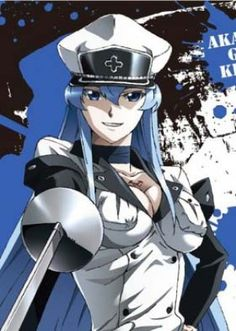 Esdeath trong Akame ga Kill!