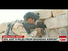 ISIS just 8 miles from Baghdad airport (CNN Breaking News)