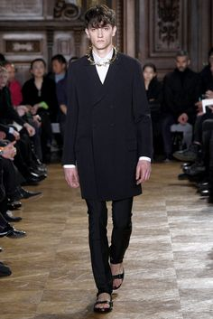 Givenchy Fall 2010 Menswear Fashion Show