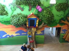 Kids Church Design - Clubhouse & Nature Theme ~ Worlds of Wow Blog