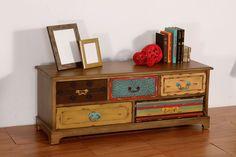 Mueble de TV Patchwork Painting