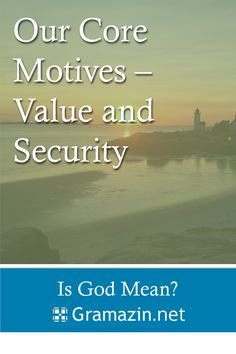Only God can truly deliver value and security.