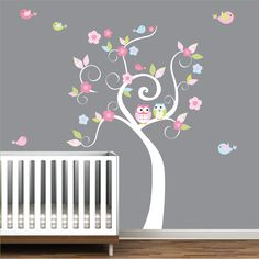 Vinyl Wall Decals Wall stickers Flowers tree for by Modernwalls, $99.00