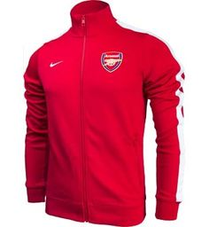 099a25cd509fd Nike Arsenal Authentic Jacket - Artillery Red with White.Available at  SoccerPro!