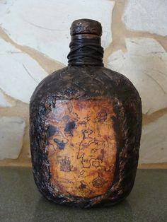 Заготовка Бутылка «В поисках сокровищ» http://dcpg.ru/blogs/6675/ Click on photo…