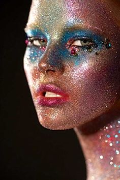 "Gorgeous face painting-- !""chicagobrunette""!"