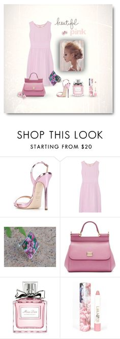 Pink by styledonna on Polyvore featuring moda, Goat, Giuseppe Zanotti, Dolce&Gabbana, LAQA & Co. and Christian Dior