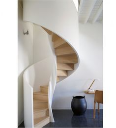 stairs with a twist