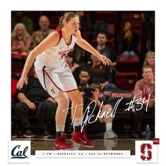 7 PM. #GoStanford by stanfordwbb
