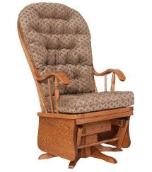 Amish Outlet Store : Bow Back Swivel Glider in Oak Amish Rocking Chairs, Hardwood Furniture, Swivel Glider, Interior Decorating, Interior Design, Sit Back And Relax, Gliders, Inspired Homes, House Colors
