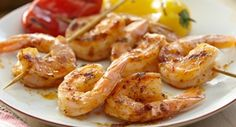 Southwest Grilled Shrimp: Serve the grilled shrimp with rice and beans for dinner with Southwestern flair.