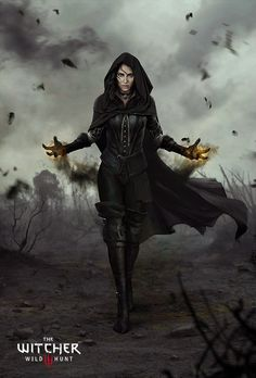 Witcher 3: The Wild Hunt Yennefer 3d Fantasy, Fantasy Artwork, Fantasy World, Fantasy Queen, Fantasy Witch, Fantasy Battle, Medieval Fantasy, Witcher 3 Wild Hunt, The Witcher 3
