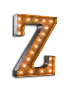 Letter Z - Vintage Marquee Lights - domino.com