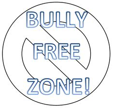 Anti-bullying poster that is great to use at the beginning of the year. The students can actually color the poster or you can have them write bully. Stop Bullying Posters, Bullying Facts, Anti Bullying, Back To School Activities, Activities For Kids, Counseling Worksheets, Safe Schools, Health Class, Classroom Organisation