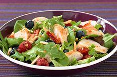 Chicken-Berry Salad