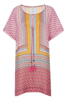 Pin for Later: 31 Cover-Ups So Flattering, You Might Not Want to Take Them Off  Diane von Furstenberg Panarea Printed Cotton Coverup Dress ($228)