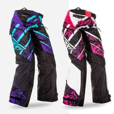 Fly Racing Kinetic Over The Boot Girls Off Road Dirt Bike Motocross Pants