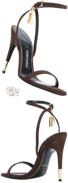 Brilliant Luxury by Emmy DE ♦ Tom Ford Ankle Strap Sandals