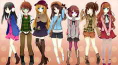 Anime people