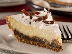 Tiramisu Pie | If you like classic tiramisu, you're gonna love our diabetic friendly version of this Italian favorite!