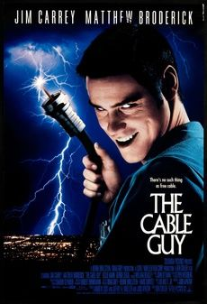 The Cable Guy Jim Carrey, Matthew Broderick. Cinema Tv, Cinema Posters, Film Posters, 90s Movies, Great Movies, Movies To Watch, Comedy Movies, Plane Movies, Cult Movies