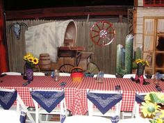 Diy Western Party Decor