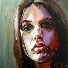 "Daily+Paintworks+-+""Model""+-+Original+Fine+Art+for+Sale+-+©+Jurij+Frey"