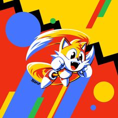 Sonic Mania Tails by Sonic The Hedgehog, Hedgehog Movie, Hedgehog Art, Videogames, Sonic Mania, Sonic Franchise, Fanart, Sonic Art, Video Game Art