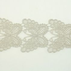 Silver Metallic Lace trim by the yard - Bridal wedding Lace Trim embroidery trim wedding fabric Millinery accent motif scrapbooking crafts lace for baby headband hair accessories dress bridal accessories by Annielov trim 125 * Check out this great product.