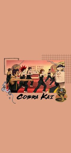 Cobra Kai Wallpaper, Pink Wallpaper, Iphone Wallpaper, Jacob Bertrand, Cobra Kai Dojo, Karate Kid Cobra Kai, Pretty Pictures, Good Movies, Aesthetic Wallpapers