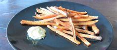 friet van zoete aardappel