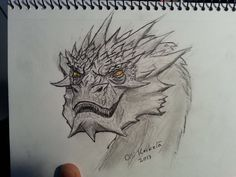 Smaug by hyperfilthered.deviantart.com on @deviantART
