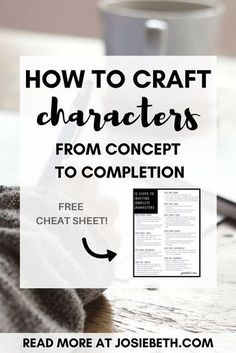 Creating characters is something even most pantsers agree is essential to do before writing your novel. Here are ideas on how to develop your character, common pitfalls to avoid, and tips for creating realistic characters. Book Writing Tips, Writing Strategies, Writing Process, Writing Help, Writing Ideas, Writing Skills, Writing Inspiration, Personal Branding, How To Write Fanfiction