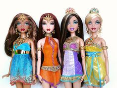 My Scene Golden Bling dolls