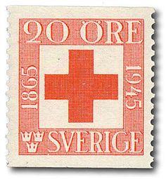 """Sweden 20ö """"Red Cross"""" 1945"""