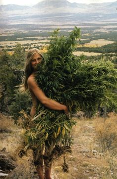 Huggin' weed. No idea who this is, but I like it.